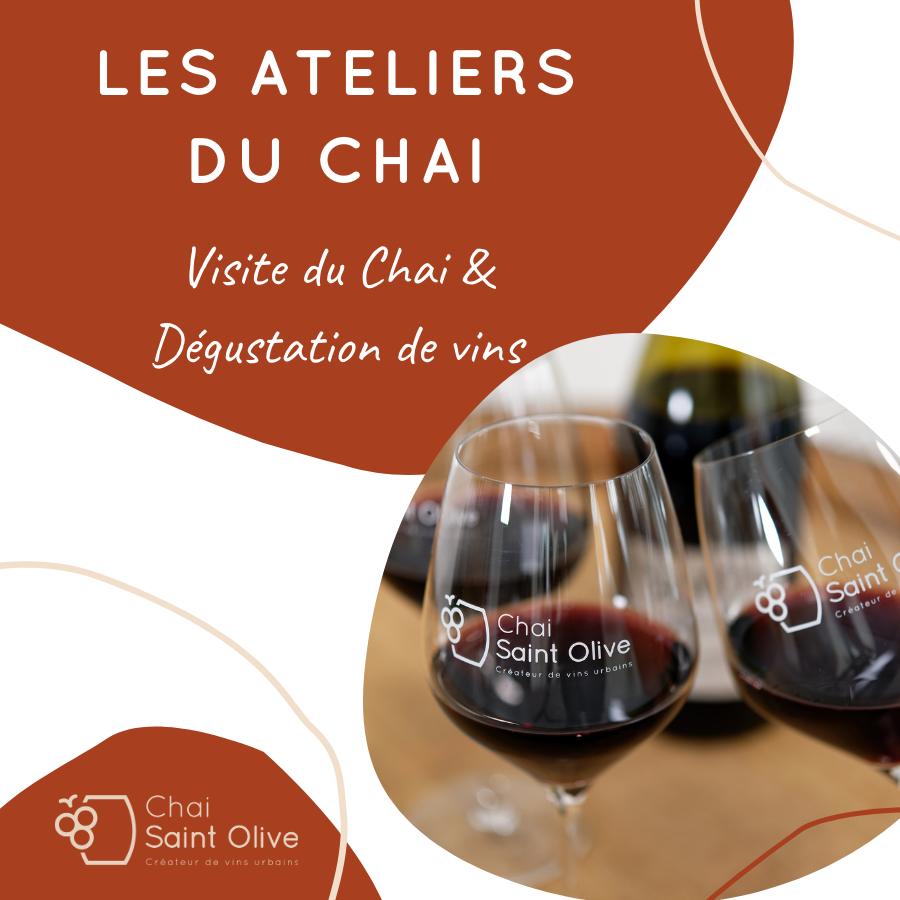 Visite du Chai & Dégustation de vins
