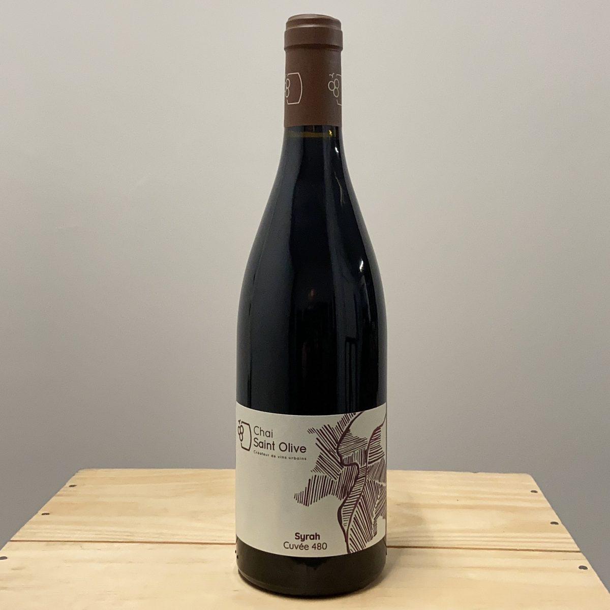 Chai Saint Olive, vins urbains, Syrah